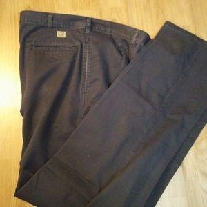 Men 38 x 34 cotton casual pants Blue
